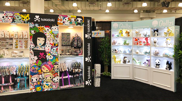 toy fair booth